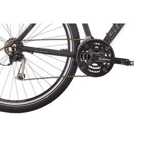 Serious Cedar Hybridcykel Dam Hybrid svart